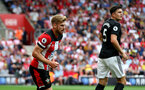 SOUTHAMPTON, ENGLAND - AUGUST 31: Stuart Armstrong of Southampton during the Premier League match between Southampton FC and Manchester United at St Mary's Stadium on August 31, 2019 in Southampton, United Kingdom. (Photo by Matt Watson/Southampton FC via Getty Images)