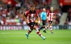 SOUTHAMPTON, ENGLAND - AUGUST 31: Ché Adams of Southampton during the Premier League match between Southampton FC and Manchester United at St Mary's Stadium on August 31, 2019 in Southampton, United Kingdom. (Photo by Matt Watson/Southampton FC via Getty Images)