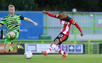Harlem Hale scores. Forest Green Rovers v Southampton U23s, The New Lawn, Nailsworth, Gloucestershire. (Picture by Chris Moorhouse/Southampton FC via Getty Images)    Tuesday 3rd September 2019