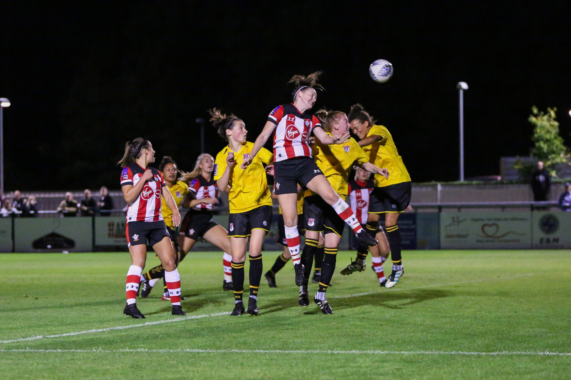 Ella Pusey during the FA Women's National League, Div One South West match between Southampton FC Women and Southampton Women, at the Testwood Community Stadium, AFC Totton, Southampton, 4th September 2019(pic by Isabelle Field)