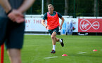 SOUTHAMPTON, ENGLAND - SEPTEMBER 05: James Ward-Prowse during a Southampton FC training session at the Staplewood Campus on September 05, 2019 in Southampton, England. (Photo by Matt Watson/Southampton FC via Getty Images)