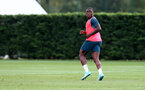 SOUTHAMPTON, ENGLAND - SEPTEMBER 10: Michael Obafemi during a Southampton FC training session at the Staplewood Campus on September 10, 2019 in Southampton, England. (Photo by Matt Watson/Southampton FC via Getty Images)