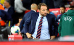 SOUTHAMPTON, ENGLAND - SEPTEMBER 10: England manager Gareth Southgate during the UEFA Euro 2020 qualifier match between England and Kosovo at St. Mary's Stadium on September 10, 2019 in Southampton, England. (Photo by Matt Watson/Southampton FC via Getty Images)