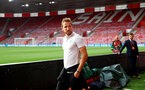 SOUTHAMPTON, ENGLAND - SEPTEMBER 10: Harry Kane of England ahead of the UEFA Euro 2020 qualifier match between England and Kosovo at St. Mary's Stadium on September 10, 2019 in Southampton, England. (Photo by Matt Watson/Southampton FC via Getty Images)