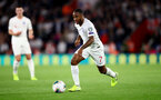 SOUTHAMPTON, ENGLAND - SEPTEMBER 10: Raheem Sterling of England during the UEFA Euro 2020 qualifier match between England and Kosovo at St. Mary's Stadium on September 10, 2019 in Southampton, England. (Photo by Matt Watson/Southampton FC via Getty Images)