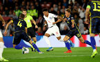 SOUTHAMPTON, ENGLAND - SEPTEMBER 10: Jadon Sancho(centre) of England during the UEFA Euro 2020 qualifier match between England and Kosovo at St. Mary's Stadium on September 10, 2019 in Southampton, England. (Photo by Matt Watson/Southampton FC via Getty Images)