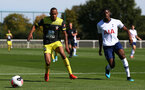 Harlem Hale during Premier League 2 between Southampton FC U23 and Tottenham Hotspur at Enfield Training Centre, Enfield, 13th September 2019 (pic by Isabelle Field)
