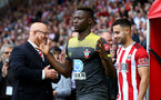 SHEFFIELD, ENGLAND - SEPTEMBER 14: Moussa Djenepo of Southampton during the Premier League match between Sheffield United and Southampton FC at Bramall Lane on September 14, 2019 in Sheffield, United Kingdom. (Photo by Matt Watson/Southampton FC via Getty Images)