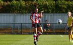 Kirsty Whitton during the FA Women's National League, Div One South West match between Southampton FC Women and Buckland, at the Testwood Community Stadium, AFC Totton, Southampton, 15th September 2019(pic by Isabelle Field)