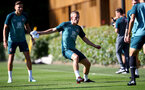 SOUTHAMPTON, ENGLAND - SEPTEMBER 19: James Ward-Prowse during a Southampton FC training session at the Staplewood Campus on September 19, 2019 in Southampton, England. (Photo by Matt Watson/Southampton FC via Getty Images)