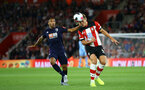 Jannik Vestergaard during Premier League match between Southampton FC and Bournemouth, at St Mary's Stadium, Southampton, 20th September 2019 (pic Isabelle Field)