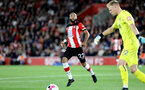 SOUTHAMPTON, ENGLAND - SEPTEMBER 20: Nathan Redmond during the Premier League match between Southampton FC and AFC Bournemouth at St Mary's Stadium on September 21, 2019 in Southampton, United Kingdom. (Photo by Chris Moorhouse/Southampton FC via Getty Images)