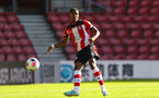 Kayne Ramsey during Premier League 2 match between Southampton FC U23 and Chelsea, at St Mary's Stadium, Southampton, 21th September 2019 (pic Isabelle Field)