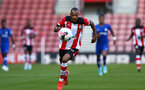 Harlem Hale during Premier League 2 match between Southampton FC U23 and Chelsea, at St Mary's Stadium, Southampton, 21th September 2019 (pic Isabelle Field)