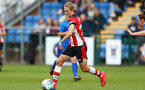 Shannon Albuery during the FA Women's National League, Div One South West match between Southampton FC Women and Cheltenham Town, at the Testwood Community Stadium, AFC Totton, Southampton, 22nd September 2019 (pic by Isabelle Field)