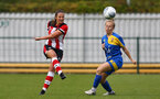 Kirsty Whitton during the FA Women's National League, Div One South West match between Southampton FC Women and Cheltenham Town, at the Testwood Community Stadium, AFC Totton, Southampton, 22nd September 2019 (pic by Isabelle Field)