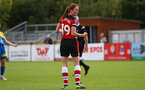 during the FA Women's National League, Div One South West match between Southampton FC Women and Cheltenham Town, at the Testwood Community Stadium, AFC Totton, Southampton, 22nd September 2019 (pic by Isabelle Field)