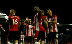 PORTSMOUTH, ENGLAND - SEPTEMBER 24: Michael Obafemi of Southampton during the Carabao Cup Third Round match between Portsmouth and Southampton at Fratton Park on September 24, 2019 in Portsmouth, England. (Photo by Matt Watson/Southampton FC via Getty Images)