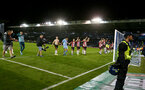 PORTSMOUTH, ENGLAND - SEPTEMBER 24: Southampton players celebrate during the Carabao Cup Third Round match between Portsmouth and Southampton at Fratton Park on September 24, 2019 in Portsmouth, England. (Photo by Matt Watson/Southampton FC via Getty Images)