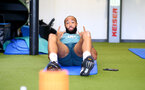 SOUTHAMPTON, ENGLAND - SEPTEMBER 25: Nathan Redmond during a Southampton FC training/recovery session at Staplewood Complex on September 25, 2019 in Southampton, England. (Photo by Matt Watson/Southampton FC via Getty Images)