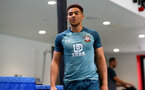 SOUTHAMPTON, ENGLAND - SEPTEMBER 25: Ché Adams during a Southampton FC training/recovery session at Staplewood Complex on September 25, 2019 in Southampton, England. (Photo by Matt Watson/Southampton FC via Getty Images)
