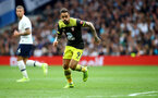 LONDON, ENGLAND - SEPTEMBER 28: Danny Ings of Southampton during the Premier League match between Tottenham Hotspur and Southampton FC at Tottenham Hotspur Stadium on September 28, 2019 in London, United Kingdom. (Photo by Matt Watson/Southampton FC via Getty Images)