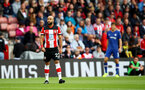 SOUTHAMPTON, ENGLAND - OCTOBER 06: Nathan Redmond of Southampton during the Premier League match between Southampton FC and Chelsea FC at St Mary's Stadium on October 06, 2019 in Southampton, United Kingdom. (Photo by Matt Watson/Southampton FC via Getty Images)