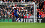 SOUTHAMPTON, ENGLAND - OCTOBER 06: Maya Yoshida of Southampton fails to clear the ball off the line during the Premier League match between Southampton FC and Chelsea FC at St Mary's Stadium on October 06, 2019 in Southampton, United Kingdom. (Photo by Matt Watson/Southampton FC via Getty Images)