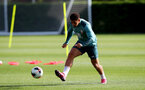 SOUTHAMPTON, ENGLAND - OCTOBER 09: Ché Adams during a Southampton FC training session at the Staplewood Campus on October 09, 2019 in Southampton, England. (Photo by Matt Watson/Southampton FC via Getty Images)