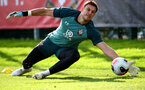 SOUTHAMPTON, ENGLAND - OCTOBER 09: Alex McCarthy during a Southampton FC training session at the Staplewood Campus on October 09, 2019 in Southampton, England. (Photo by Matt Watson/Southampton FC via Getty Images)