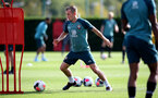 SOUTHAMPTON, ENGLAND - OCTOBER 09: James Ward-Prowse during a Southampton FC training session at the Staplewood Campus on October 09, 2019 in Southampton, England. (Photo by Matt Watson/Southampton FC via Getty Images)