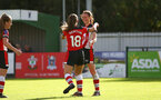 Rachel Panting during the Woman's FA Cup, first round between Southampton FC Women and Buckland Athletic, at the Testwood Community Stadium, AFC Totton, Southampton, 13th October 2019 (pic by Isabelle Field)