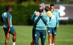 SOUTHAMPTON, ENGLAND - OCTOBER 17: Nathan Redmond during a Southampton FC training session, at the Staplewood Campus, on October 17, 2019 in Southampton, England. (Photo by Matt Watson/Southampton FC via Getty Images)