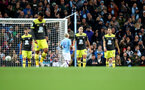 MANCHESTER, ENGLAND - OCTOBER 29: Southampton players dejected during the Carabao Cup Round of 16 match between Manchester City and Southampton FC at the Etihad Stadium on October 29, 2019 in Manchester, England. (Photo by Matt Watson/Southampton FC via Getty Images)