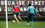 SOUTHAMPTON, ENGLAND - NOVEMBER 05, Stuart Armstrong during a Southampton FC training session at the Staplewood Complex on November 05, 2019 in Southampton, England. (Photo by Matt Watson/Southampton FC via Getty Images)
