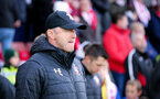 SOUTHAMPTON, ENGLAND - NOVEMBER 09: Ralph Hasenhüttl during the Premier League match between Southampton FC and Leicester City at St Mary's Stadium on November 09, 2019 in Southampton, United Kingdom. (Photo by Chris Moorhouse/Southampton FC via Getty Images)