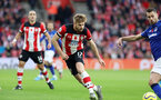 SOUTHAMPTON, ENGLAND - NOVEMBER 09: Stuart Armstrong during the Premier League match between Southampton FC and Leicester City at St Mary's Stadium on November 09, 2019 in Southampton, United Kingdom. (Photo by Chris Moorhouse/Southampton FC via Getty Images)