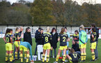during the Woman's FA Cup between Southampton FC Women and Chesham United at the Chesham United Football Club, Buckinghamshire, 10th November 2019 (pic by Isabelle Field)