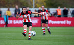 SOUTHAMPTON, ENGLAND - NOVEMBER 17: Sophia Pharoah during Womens Hampshire Cup round 2 match between Southampton FC Women and AFC Bournemouth Women, at the Snows stadium AFC Totton, on November 17, 2019 in Southampton, England. (Photo by Matt Watson/Southampton FC via Getty Images)