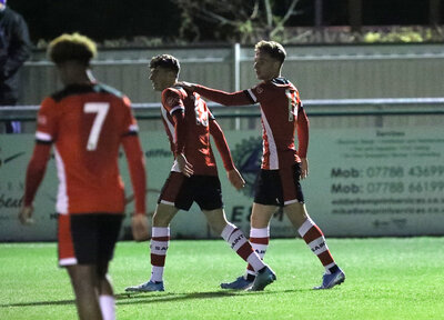 Saints into the next round of the Hampshire Senior Cup