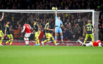 LONDON, ENGLAND - NOVEMBER 23: Alex McCarthy of Southampton saves during the Premier League match between Arsenal FC and Southampton FC at Emirates Stadium on November 23, 2019 in London, United Kingdom. (Photo by Matt Watson/Southampton FC via Getty Images)