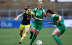 YEOVIL, ENGLAND - November 24: Ella Morris during the SRWFL at The Avenue between Yeovil and Southampton Women on November 24 2019, Yeovil, England. (Photo by Isabelle Field/Southampton FC via Getty Images)