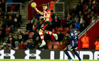 SOUTHAMPTON, ENGLAND - NOVEMBER 30: Jan Bednarek during the Premier League match between Southampton FC and Watford FC at St Mary's Stadium on November 30, 2019 in Southampton, United Kingdom. (Photo by Isabelle Field/Southampton FC via Getty Images)