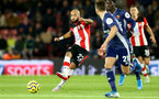 SOUTHAMPTON, ENGLAND - NOVEMBER 30: Nathan Redmond during the Premier League match between Southampton FC and Watford FC at St Mary's Stadium on November 30, 2019 in Southampton, United Kingdom. (Photo by Isabelle Field/Southampton FC via Getty Images)