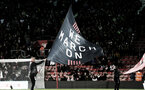 SOUTHAMPTON, ENGLAND - NOVEMBER 30: We March On flag  during the Premier League match between Southampton FC and Watford FC at St Mary's Stadium on November 30, 2019 in Southampton, United Kingdom. (Photo by Matt Watson/Southampton FC via Getty Images)
