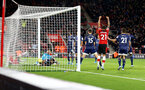 SOUTHAMPTON, ENGLAND - NOVEMBER 30: Danny Ings of Southampton scores during the Premier League match between Southampton FC and Watford FC at St Mary's Stadium on November 30, 2019 in Southampton, United Kingdom. (Photo by Matt Watson/Southampton FC via Getty Images)
