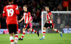 SOUTHAMPTON, ENGLAND - NOVEMBER 30: James Ward-Prowse of Southampton celebrates with Danny Ings(R) during the Premier League match between Southampton FC and Watford FC at St Mary's Stadium on November 30, 2019 in Southampton, United Kingdom. (Photo by Matt Watson/Southampton FC via Getty Images)