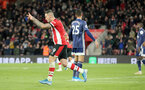 SOUTHAMPTON, ENGLAND - NOVEMBER 30: Danny Ings scores during the Premier League match between Southampton FC and Watford FC at St Mary's Stadium on November 30, 2019 in Southampton, United Kingdom. (Photo by Chris Moorhouse/Southampton FC via Getty Images)