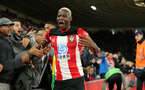 SOUTHAMPTON, ENGLAND - NOVEMBER 30: Moussa Djenepo during the Premier League match between Southampton FC and Watford FC at St Mary's Stadium on November 30, 2019 in Southampton, United Kingdom. (Photo by Chris Moorhouse/Southampton FC via Getty Images)