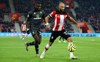 SOUTHAMPTON, ENGLAND - DECEMBER 04: Nathan Redmond during the Premier League match between Southampton FC and Norwich FC at St Mary's Stadium on December 04, 2019 in Southampton, United Kingdom. (Photo by Isabelle Field/Southampton FC via Getty Images)